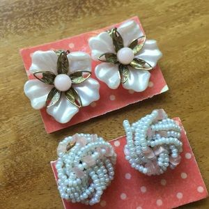Jewelry - 🌷Spring is here!🌷 Lot of Clip on earrings